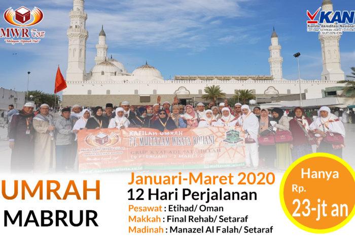 Umrah Mabrur 12 Hari