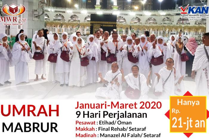 Umrah Mabrur 9 Hari